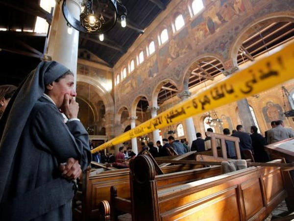 بالصور.. قصص مؤثرة في حادث تفجير الكنيسة المصرية!