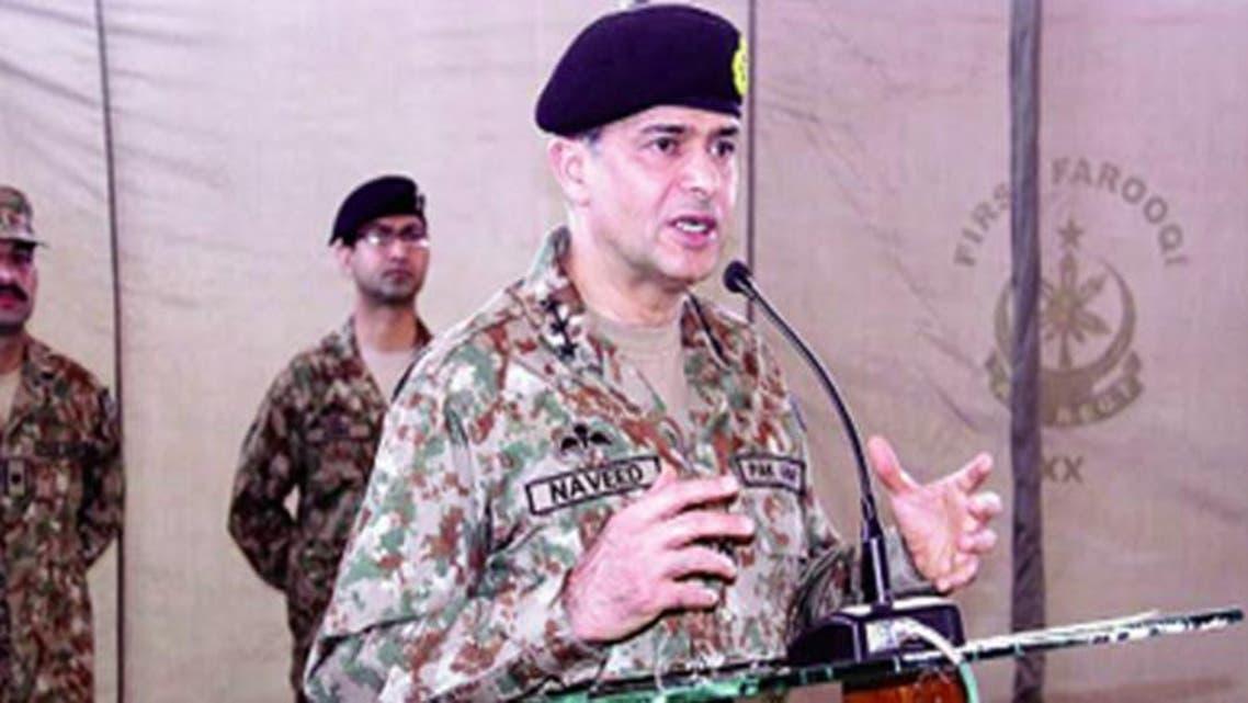 اللفتنانت جنرال نافيد مختار مدير الاستخبارات جيش باكستان