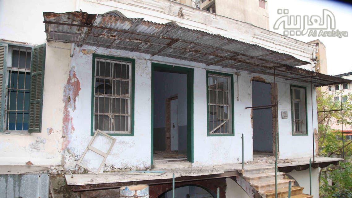 منزل فيروز المهجور في بيروت