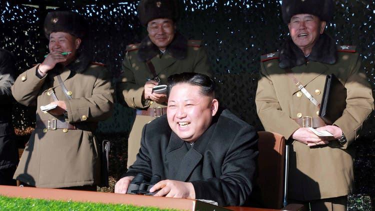 رهبر کره شمالی خوشحال از یک آزمایش هستهای