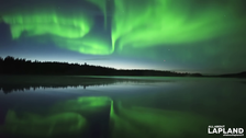 Watch: Finland's skies swirl green with magical Northern Lights