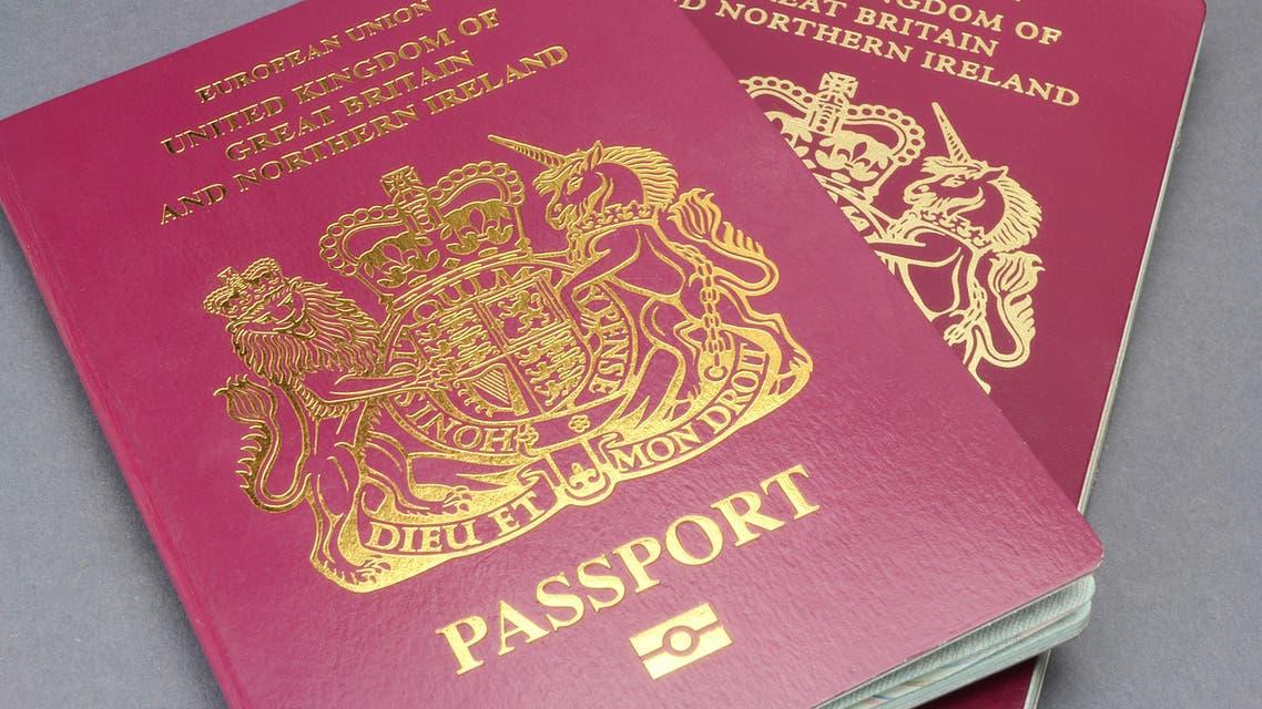 uk passport shutterstock