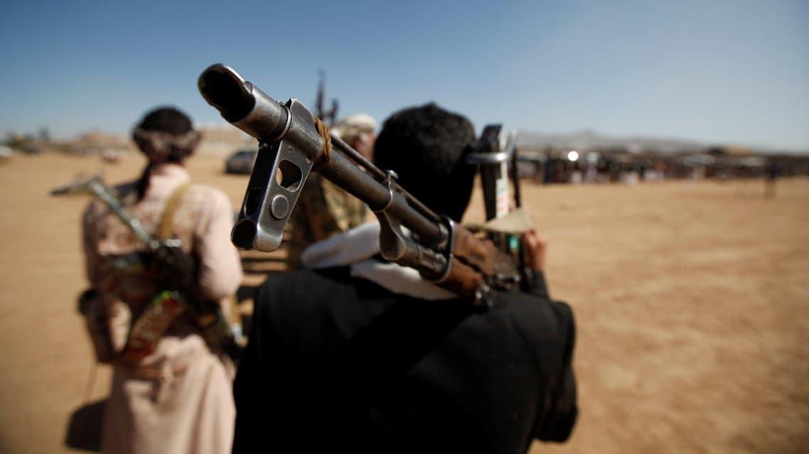 عناصر تابعة لميليشيات الحوثي في صنعاء 3