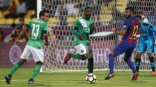 In pictures: MSN all on target as Barcelona beat Al Ahli 5-3