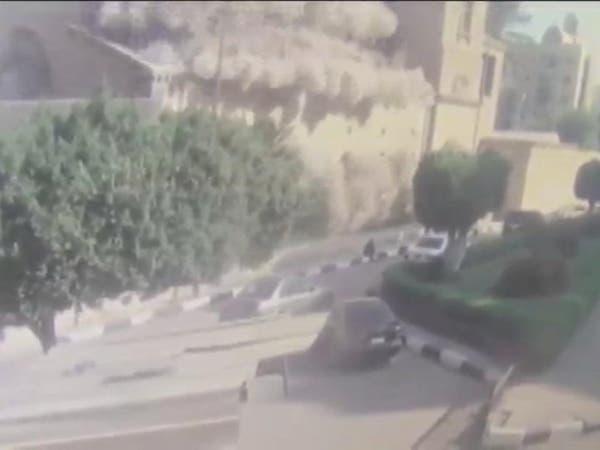شاهد.. لحظة تفجير كاتدرائية الأقباط في القاهرة