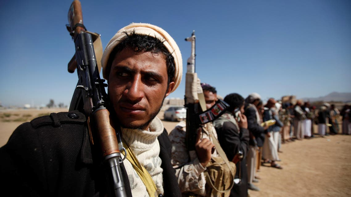 Tribesmen attend a gathering held to show support to the new government formed by Yemen's armed Houthi movement and its political allies, in Sanaa, Yemen December 6, 2016. reuters