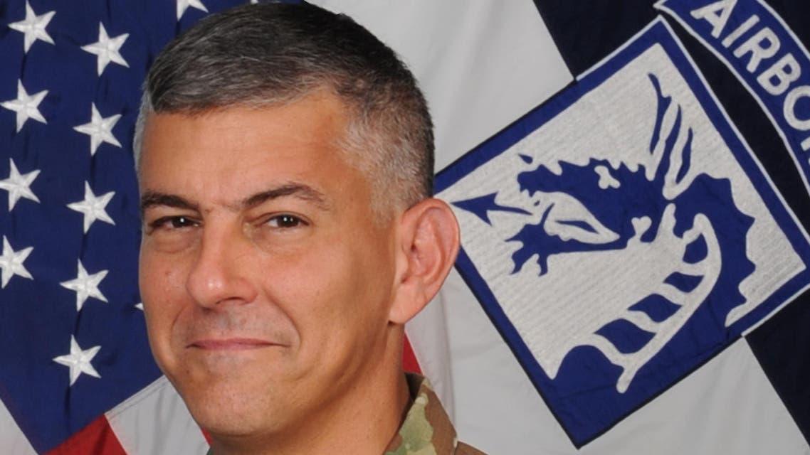 الجنرال ستيفن تاونسند قائد قوات التحالف ضد داعش