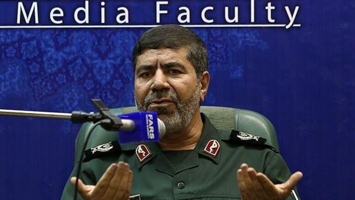 المتحدث بإسم الحرس الثوري الايراني العميد رمضان شريف