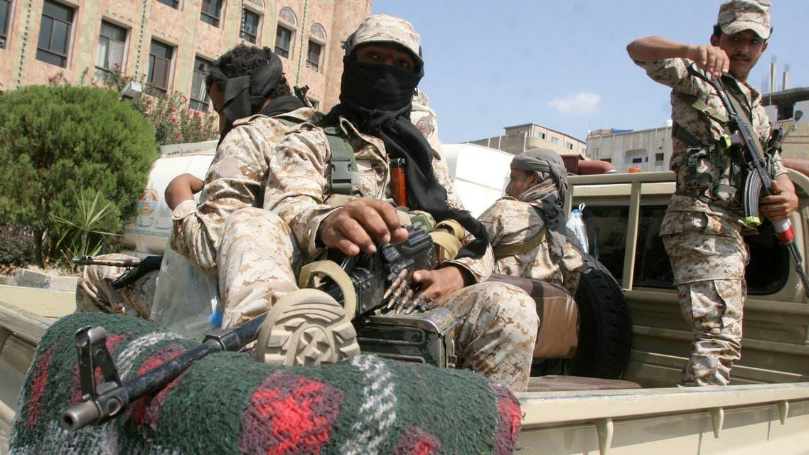 Pro-government soldiers Taiz Yemen November 23, 2016 قوات الشرعية اليمنية المقاومة الشعبية في تعز
