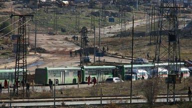 حلب.. بدء إجلاء الدفعة الثالثة من المدنيين