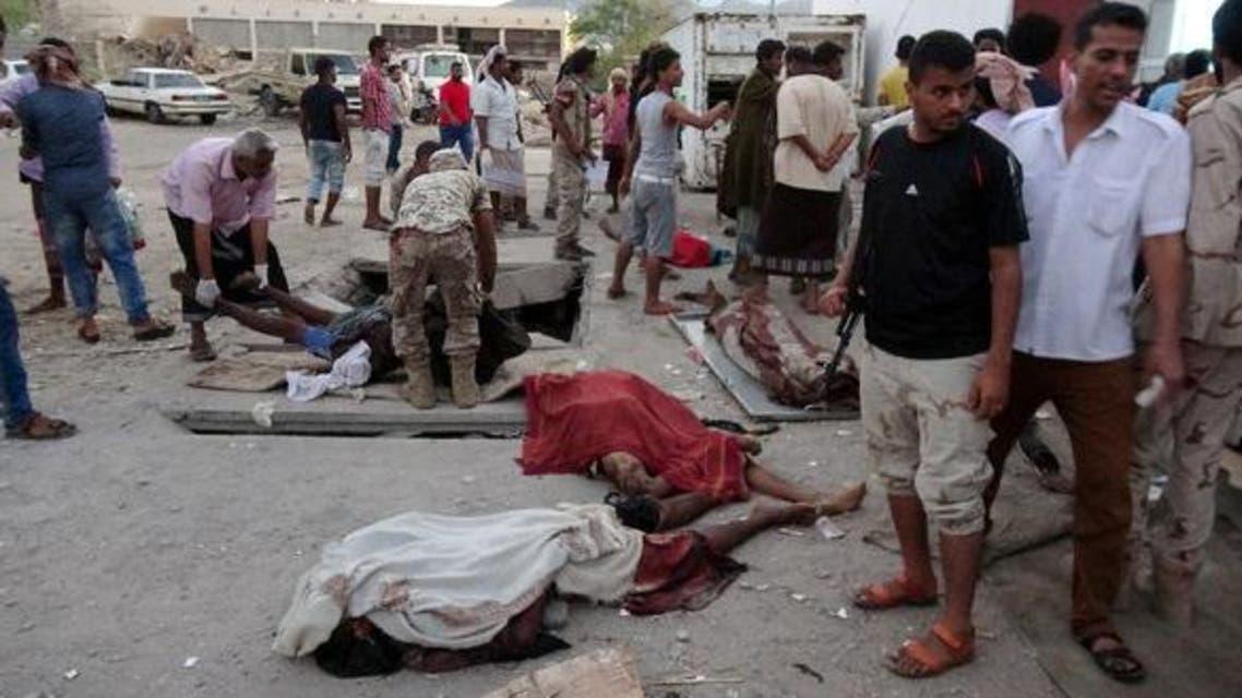 جثث مذبوحة الرأس في عدن(رويترز)