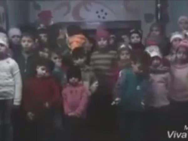 """""""يمكن آخر مرة تسمعوا صوتي"""".. شاهد رسالة أيتام في حلب"""