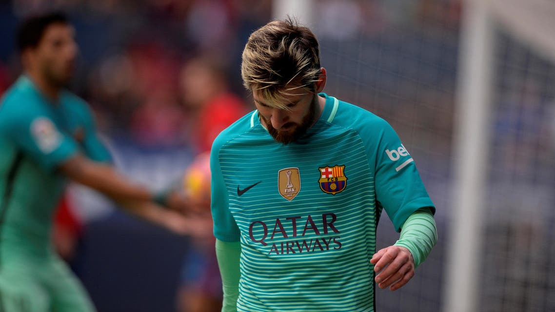 Messi's trip was planned for this month and will now be postponed until February, according to visit organizers Prime Pharma. (File photo: Reuters)