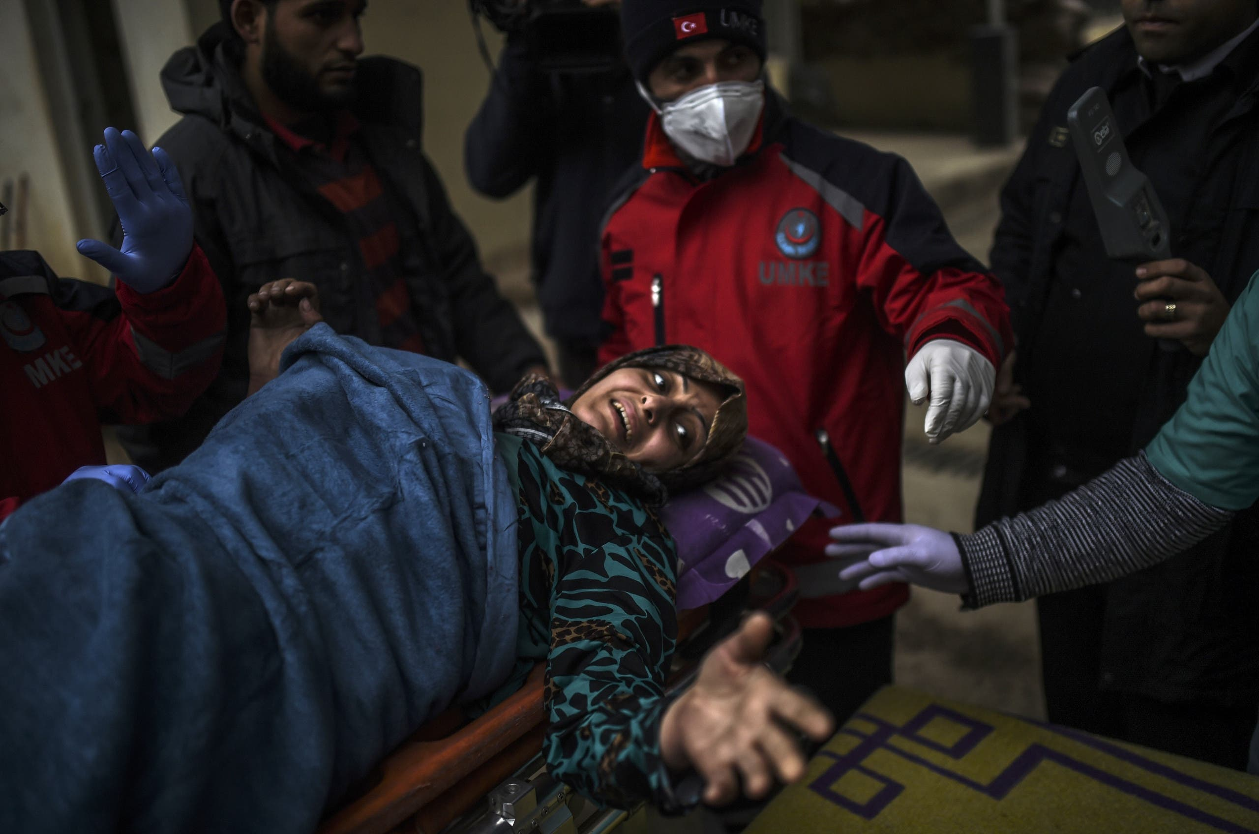 Turkey plans to set up a camp inside Syria to host people evacuated from the city of Aleppo but will continue to take the sick and wounded (AFP)