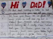 الطفل الذي أبكى البريطانيين: أفتقدك يا أبي