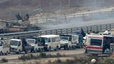 تعليق إخلاء حلب.. وخلاف حول نقل جرحى من قريتين