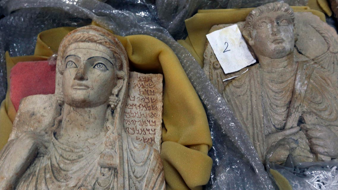 Antiquities are unwrapped as thousands of priceless antiques from across war-ravaged Syria are gathered in the capital to be stored safely away from the hands of ISIS militants and the ongoing war across most of the country, in Damascus, Syria August 18, 2015. (Reuters)