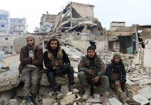 مقاتلون في حلب(أرشيفية)