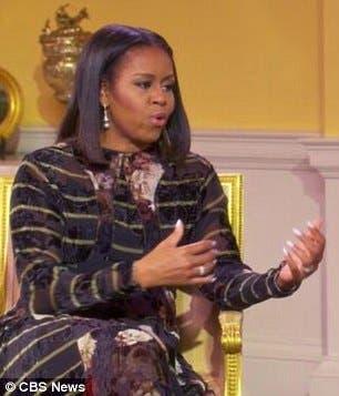 قالت في كلمات ذات مغزى إن البيت الأبيض يحتاج إلى شخص ناضج