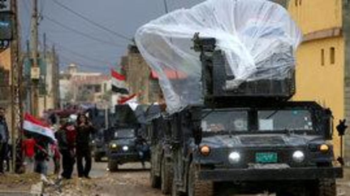 القوات العراقية شرق الموصل