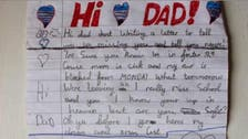 Child's heartbreaking Christmas letter to dead father goes viral