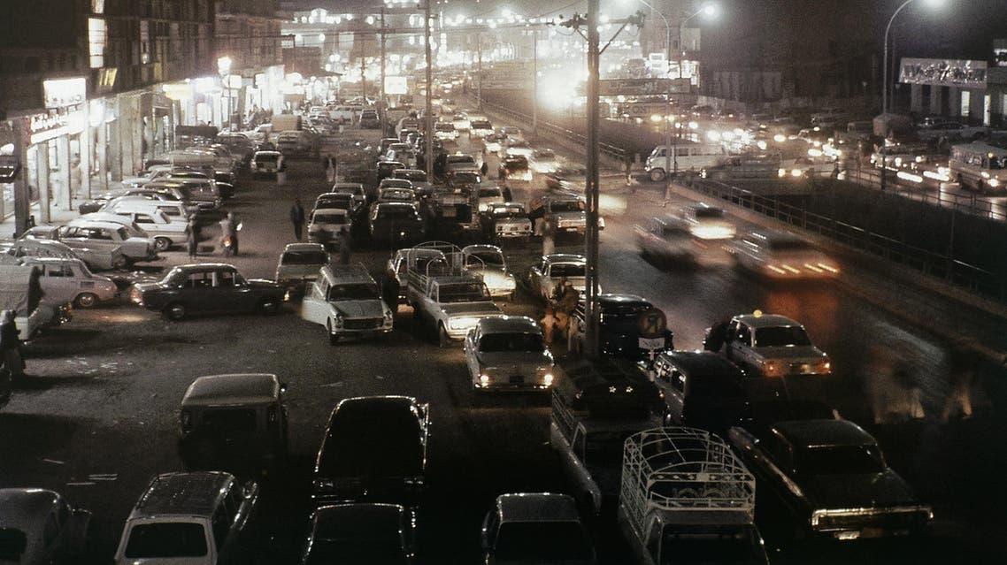 View of Downtown Riyadh, Capital of Saudi Arabia, date unknown. (AP)
