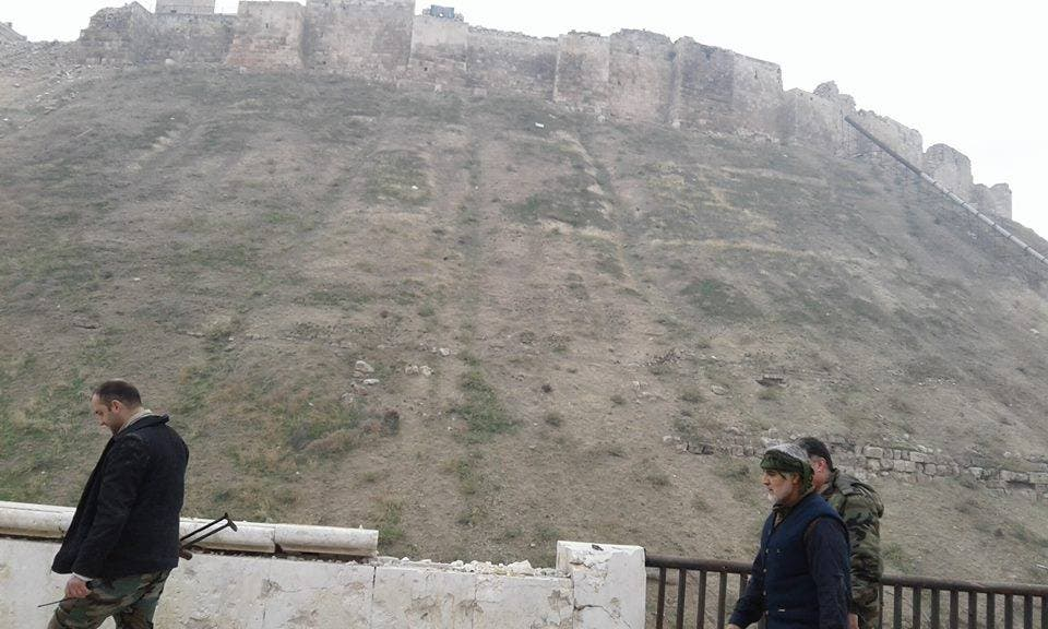 سليماني قرب قلعة حلب