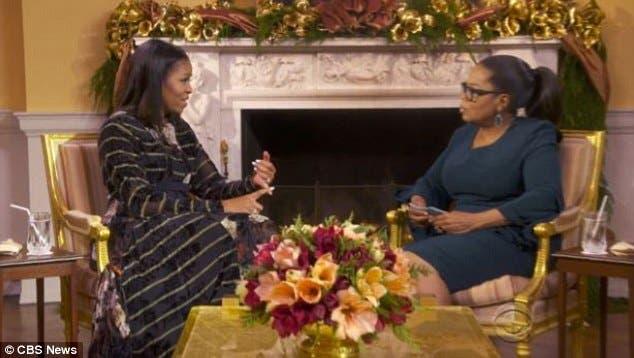 ميشال أوباما مع أوبرا وينفري