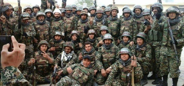 مليشيات لواء فاطميون الأفغاني التابعة لإيران