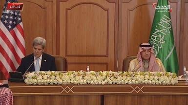 الجبير: نطالب العالم بإجراءات صارمة لوقف تدخلات إيران