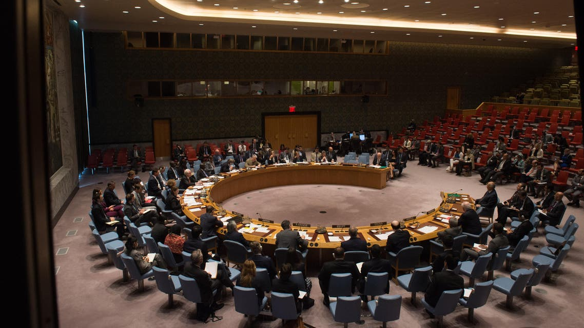 It was not immediately clear how Russia would vote on the French drafted UN resolution. (AFP)