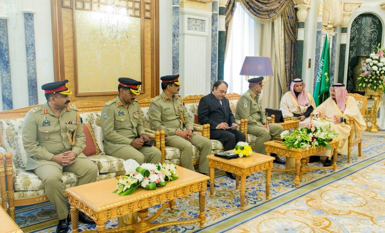 king salman pakistan army