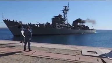 بالفيديو.. مصر تضبط سفينة إيرانية محملة بالمخدرات