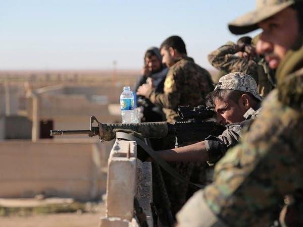 قوات سوريا الديمقراطية تضيق الخناق على داعش قرب الرقة