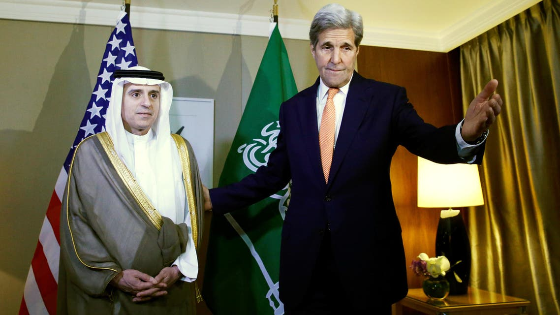 """Saudi foreign minister Adel al-Jubeir told reporters that he had been """"trying to persuade"""" US legislators to change the JASTA law. (File photo"""