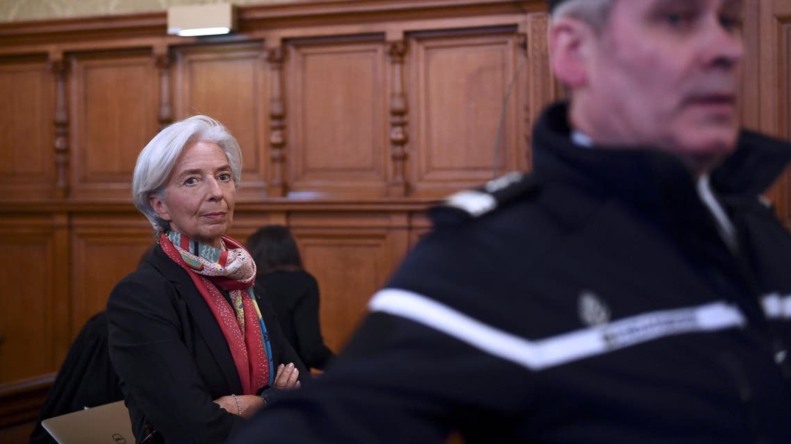 IMF head Christine Lagarde on Monday was found guilty of negligence by a French court over a massive payout to a tycoon when she was finance minister. (AFP)