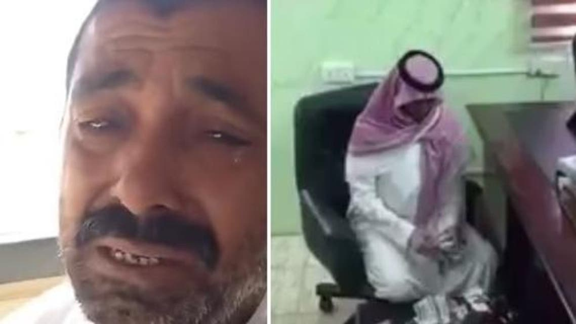The Pakistani had been involved in an accident in which a Saudi was killed and did not have money to compensate the victim's family. (YouTube)