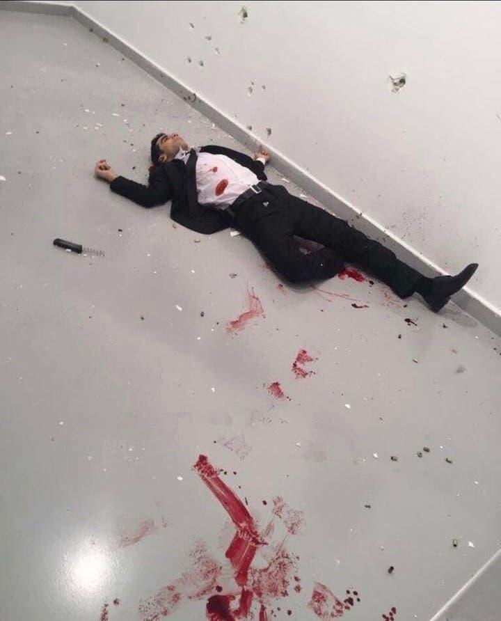 قاتل سفیر روسیه در تبادل آتش با نیروهای امنیتی کشته شد