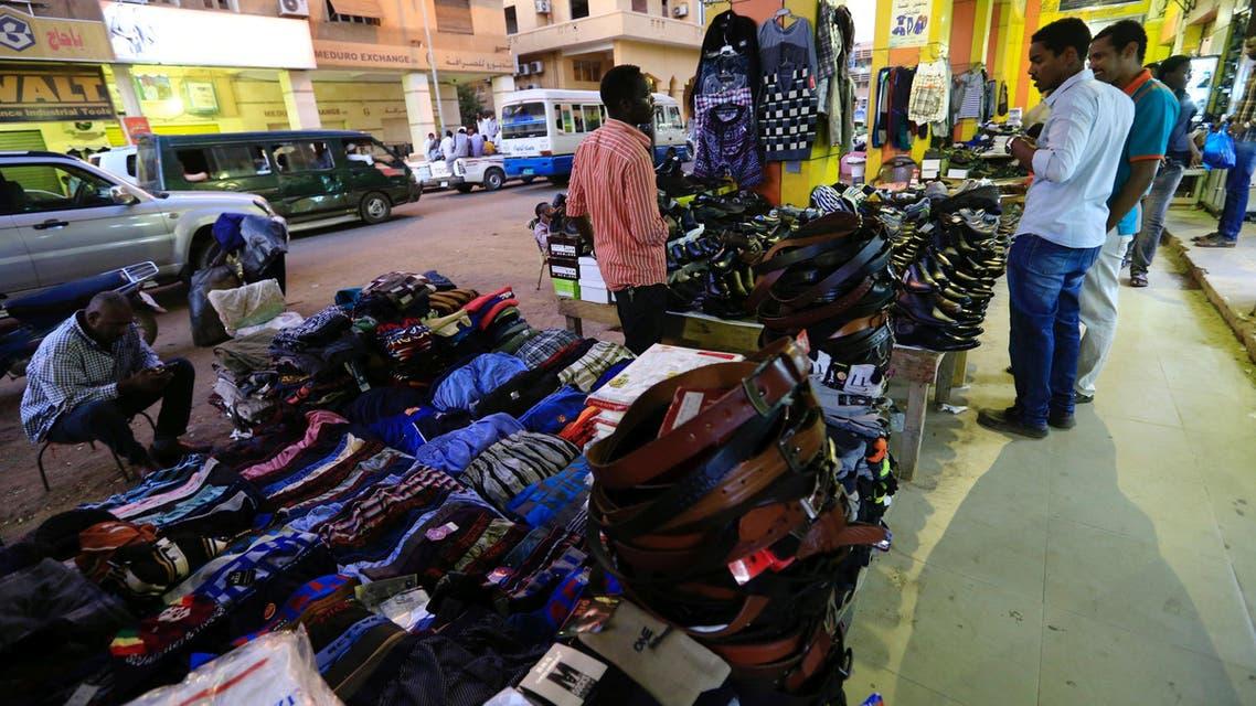A vendor displays his goods in Khartoum, Sudan December 1, 2016. Picture taken December 1, 2016. REUTERS