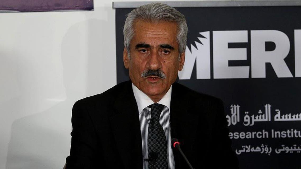 مصطفى هجري زعيم حزب الديمقراطي الكردستاني الإيراني