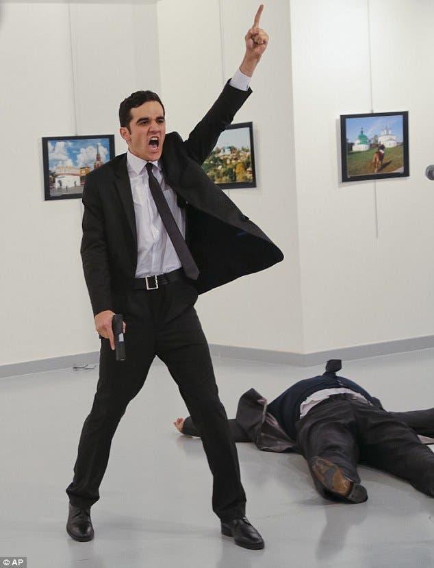 قاتل السفير الروسي
