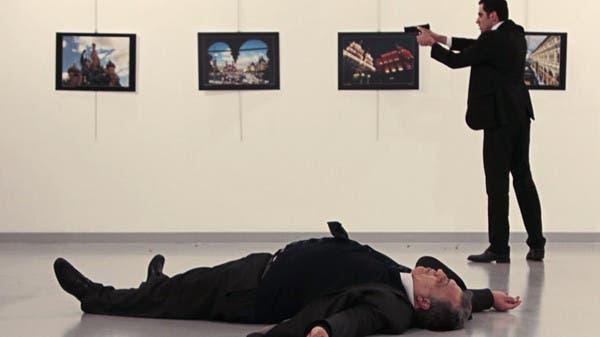 من حادث اغتيال السفير الروسي في أنقرة