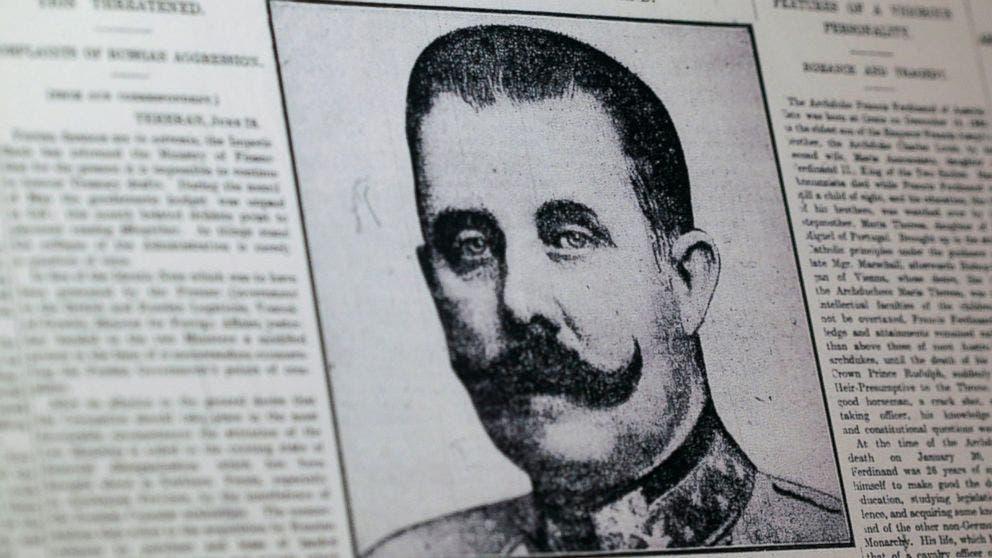 Archduke Franz Ferdinand. (AP)