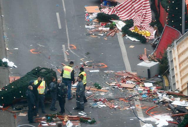 من موقع الهجوم بالشاحنة في برلين