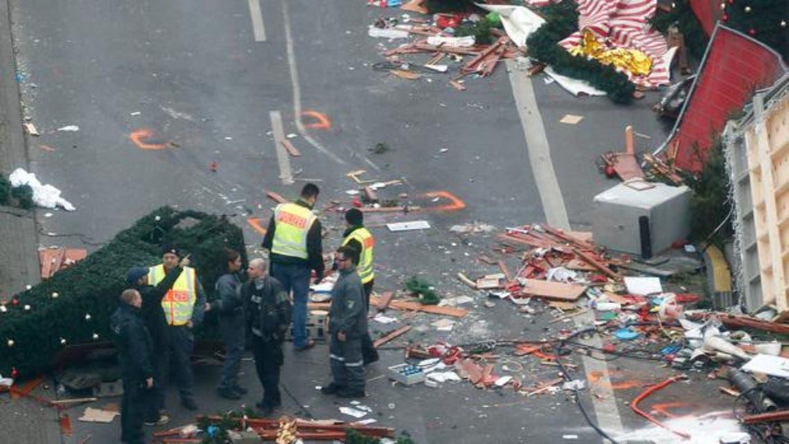 من ساحة الهجوم في برلين