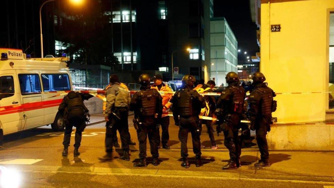 هجوم على مركز إسلامي في سويسرا 1