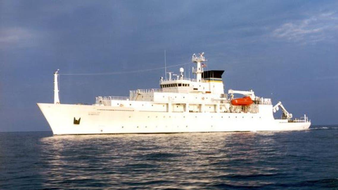 السفينة الأميركية التي تولت نشر الغواصة في بحر الصين الجنوبي