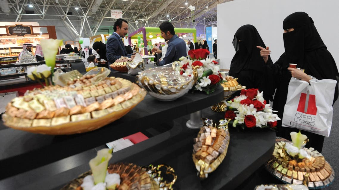 Saudis visit the International Coffee & Chocolate Exhibition held at the Riyadh International Convention & Exhibition Center (RICEC) on December 20, 2016 in Riyadh. The Exhibition is a four day event being held from 20th December to the 23rd December which successfully integrates all aspects of coffee and chocolate related industry under one roof and features the best equipment, services and products from regional and international producers and suppliers. AFP[
