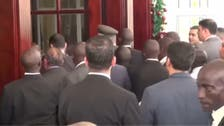 VIDEO: Presidential guards of Sisi and Uganda's president get in a scuffle