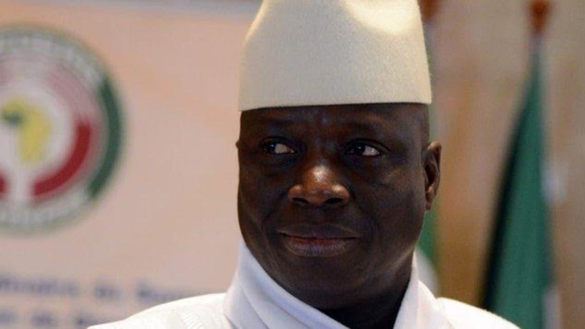 رئيس غامبيا المهزوم